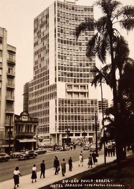 Fachada do Jaraguá em 1954