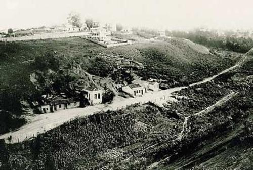 Vale do Saracura em foto que deve ter sido feita entre 1910 e 1920. Fonte: Agência USP de Notícias