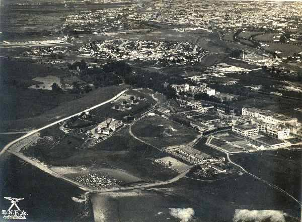 Bairro da Lapa e da Vila Anastácio na década de 40
