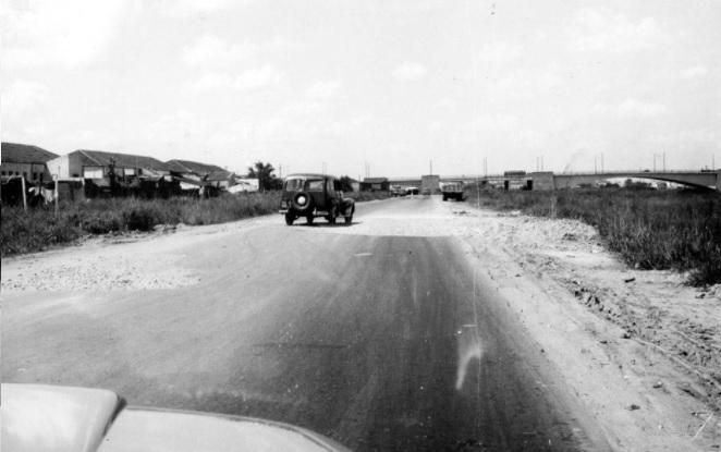 Registro da Marginal Tiete em 1958