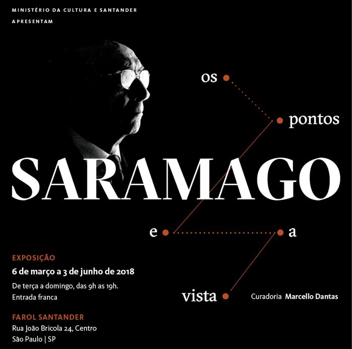 Resultado de imagem para Saramago Os Pontos e a Vista - Exposição.